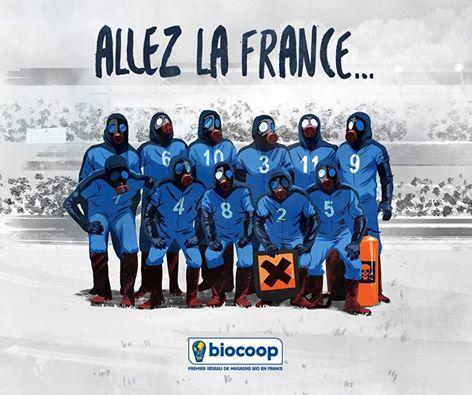 Allez la France pour un développement économiquement efficace, socialement équitable et écologiquement soutenable: une société en PAIX.