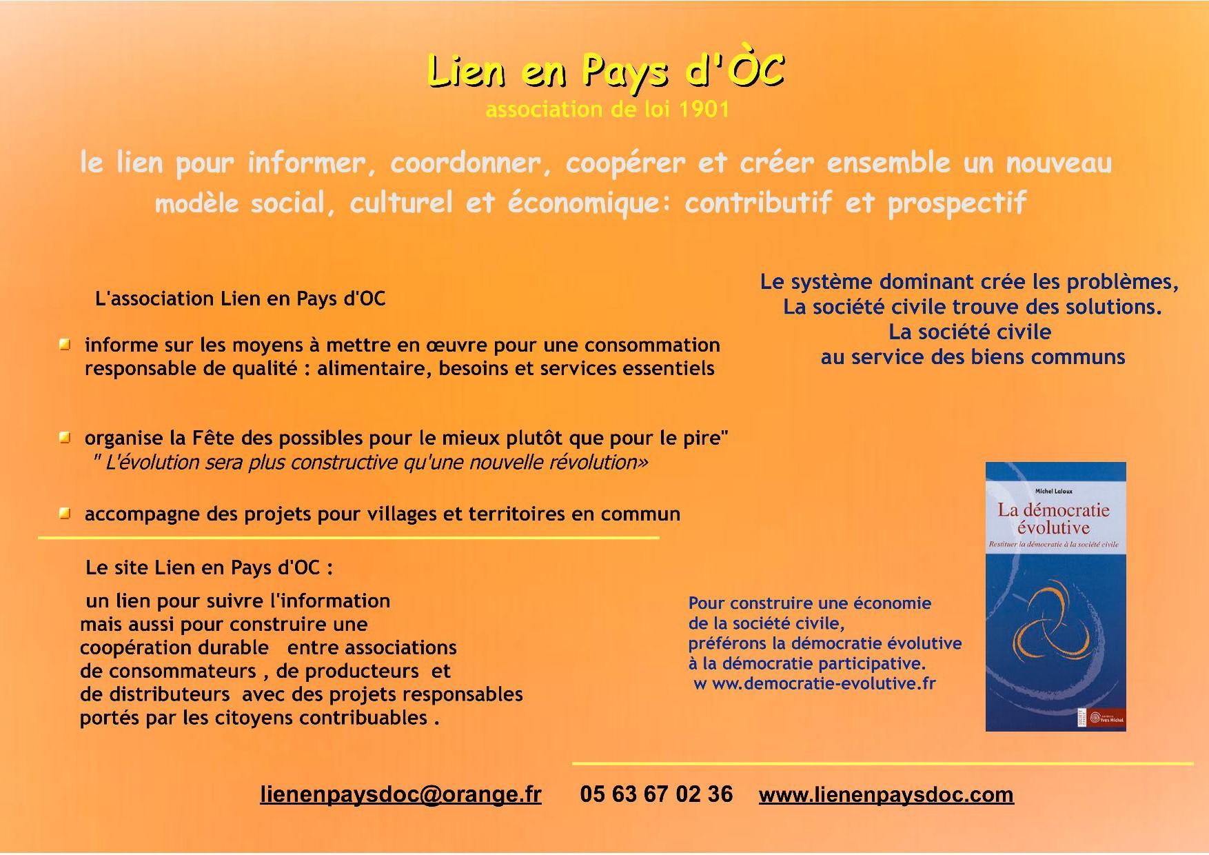 Liens En Pays D Oc Developpement Durable En Pays Midi Quercy Par